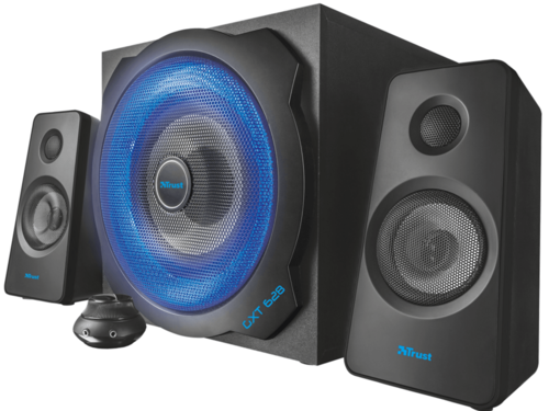 Outlet : Trust GXT 628 2.1 Illuminated Speaker Set Limited Edition